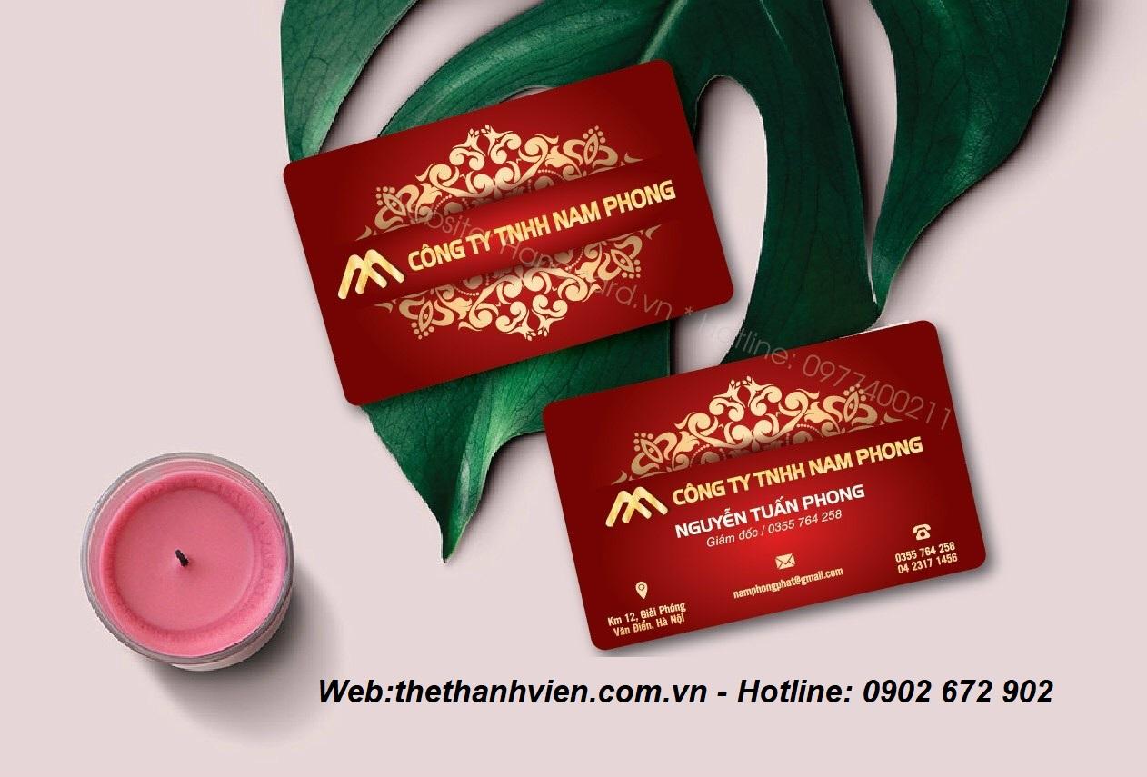 Thẻ thành viên – TP HCM